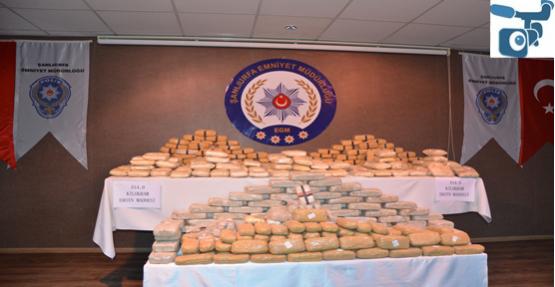 Urfa'da 315 kilo eroin yakalandı