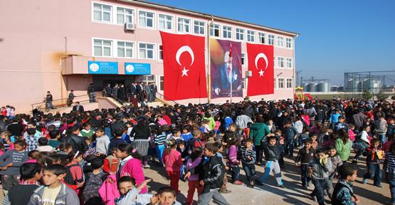 Urfa'da 604 bin öğrenci için zil çaldı