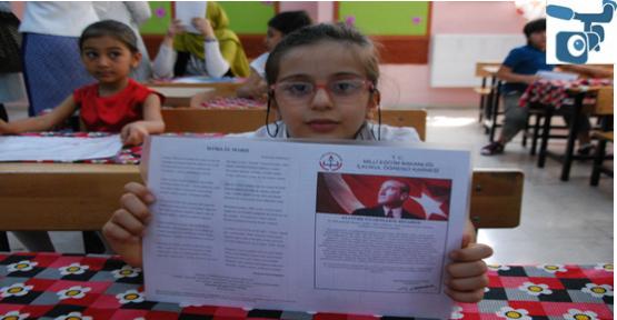 Urfa'da 614 bin  öğrenci ile 55 bin  Suriyeli karne aldı