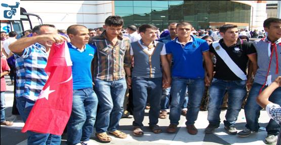 Urfa'da Asker Uğurlaması