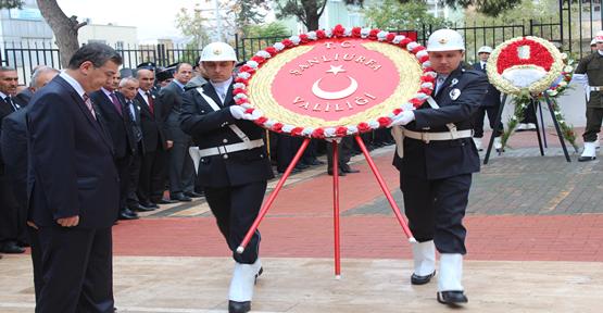 Urfa'da Atatürk'ü anma töreni