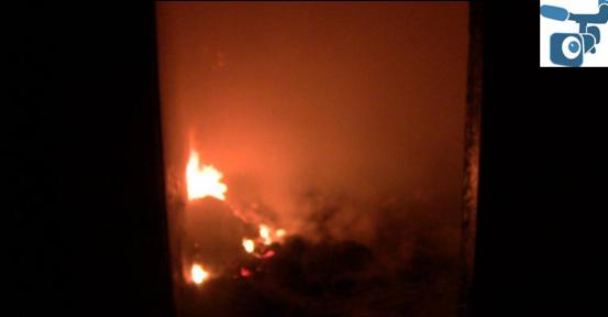 Urfa'da Evde çıkan Yangın korkuttu
