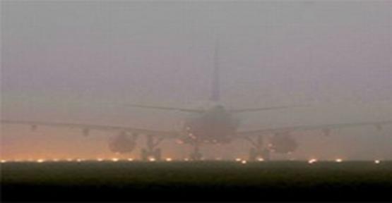 Urfa'da Hava Ulaşımına Sis Engeli