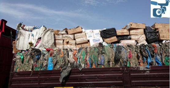 Urfa'da kaçak sigara operasyonu 2 gözaltı