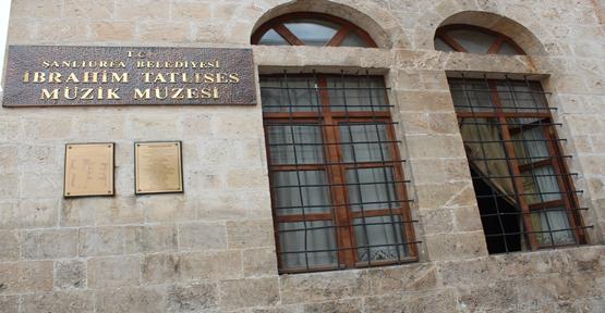 Urfa'da Müzik Müzeleri İlgi Görmüyor