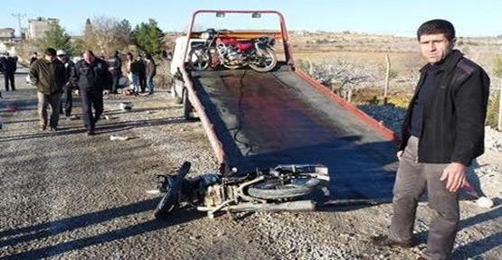 Urfa'da Trafik kazası: 1 ölü, 1 yaralı