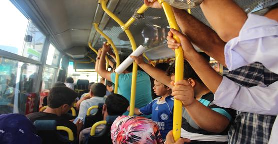 Urfa'da ulaşım rezaleti