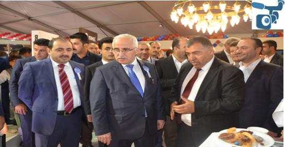 Urfa'da yapı ve inşaat fuarı açıldı