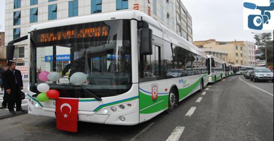 Urfa'ya toplu taşımaya yeni 25 araç