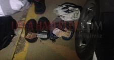 Urfa'da yapılan aramada ayakkabıdan para çıktı