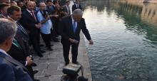 Başbakan Balıklıgöl'ü Ziyaret Etti