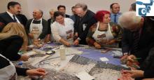 Başkan Berger ve Büyükelçiler Müzeyi Gezdi