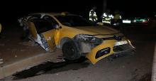 Urfa'da Taksi İle Otomobil Çarpıştı, Baba Ve 2 Oğlu Öldü