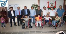 Karaköprü İMKB Öğrencilerden Engellilere 6 Tekerlekli Sandalye