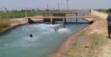 Urfa'da Çocukların Tehlikeli Serinlemesi