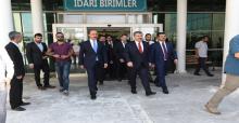 Sağlık Bakanı Suriye Sınırda