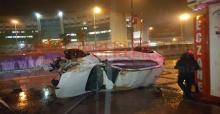 Urfa'da Otomobil Takla Attı, 2 Yaralı