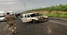 Urfa'da minibüs ile otomobil çarpıştı, 10 yaralı