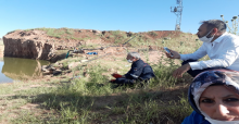 Urfa'da gölete giren genç boğuldu