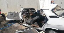 Şanlıurfa'da iki otomobil çarpıştı, 2 ölü, 3 yaralı
