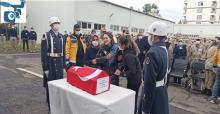 Urfa'da faciada hayatını kaybeden uzman çavuş ve oğlu memleketlerine uğurlandı