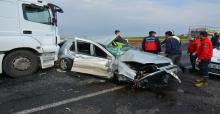 Urfa'da yine kaza, 1 ölü, 1 yaralı