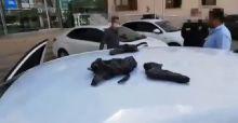 Şanlıurfa'da durdurulan araçta cephanelik çıktı