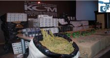 Urfa'da büyük kaçakçılık operasyonu, 9 gözaltı