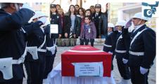 Şehit polis gözyaşları arasında memleketine uğurlandı