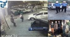 Urfa'da vurulma anı kameraya yansıdı