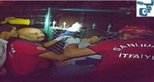 Şanlıurfa'da demir parmaklık kazası