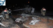 Otobanda feci kaza,1 ölü, 2 yaralı