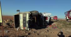 Urfa'da feci kaza, 2 yaralı