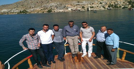 Vali Güvenç ve Müsteşar Şelli, Halfeti'yi Ziyaret Etti