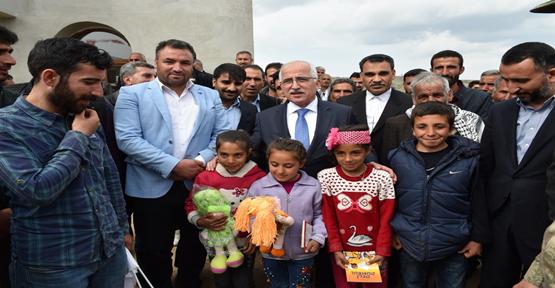 Vali Tuna, Siverek'te vatandaşlarla bir araya geldi