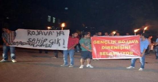 Viranşehir'de Yürüyüşe Polis İzin Vermedi