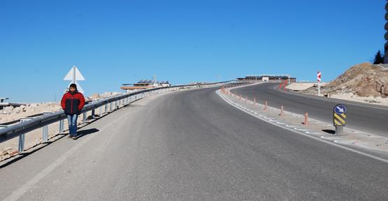 Yeni 35 metre yol yarım mı bırakıldı!
