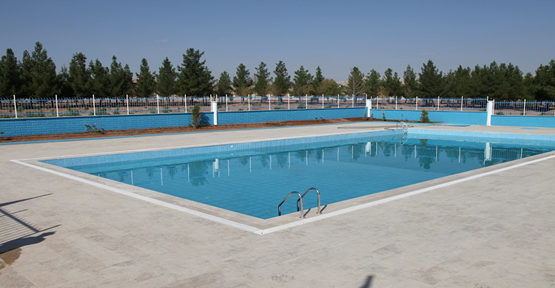 Yüzme Havuzu Çalışmaları Tam Hız Devam Ediyor