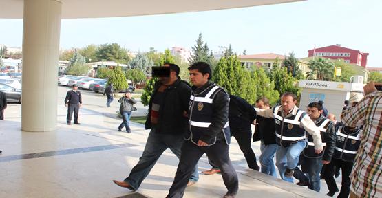 14 Gözaltından 8 tutuklama