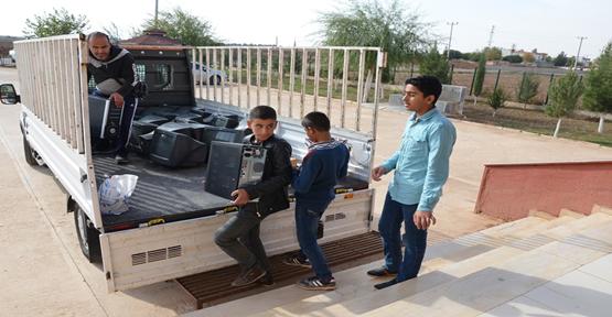 Gazali Okuluna 20 adet bilgisayar Desteği