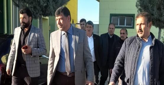 Başkan Aslan'dan Şanlıırfaspor'a destek ziyareti