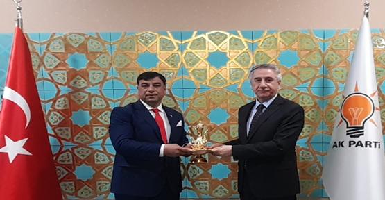 Başkan Aslan, Şanlıurfa'nın sorunlarını Ankara gündeme getirdi