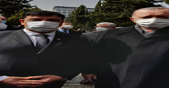 Başkan Aslan, Turgut Özal'ı anma töreninde