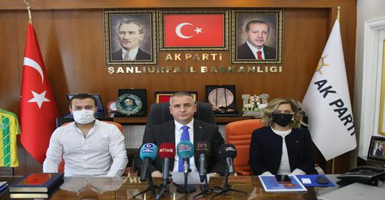 AK Parti Şanlıurfa il başkanlığından 27 Mayıs darbe açıklaması