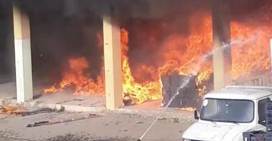 Şanlıurfa'da büyük yangın