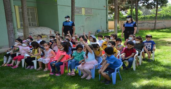Şanlıurfa'da minikler 'Kanka Polis'le eğitiliyor