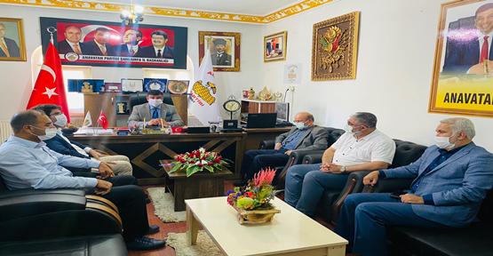 STK'lardan Başkan Aslan' a ziyaret