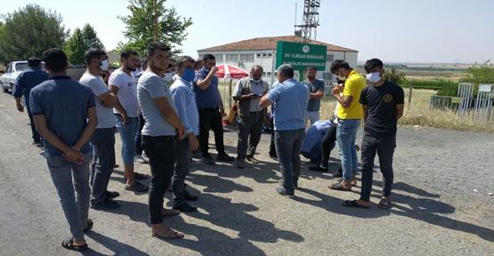 Urfa'da mahalleli eylem yaptı