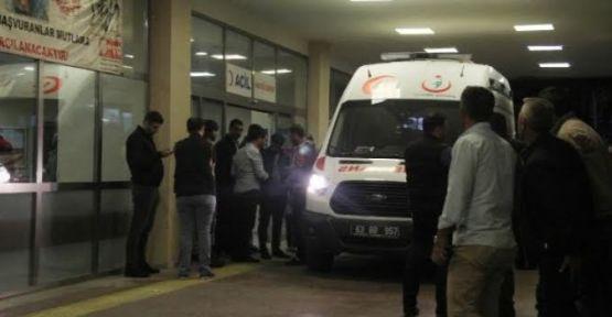 """Urfa""""da trafik kazası, 1 ölü, 1 yaralı"""