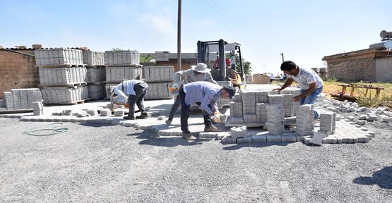 Viranşehir belediyesi ile kırsal mahallelerin çehresi değişiyor
